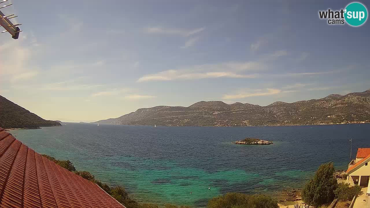 Live-Webcam Korčula Tri Žala – Pelješac