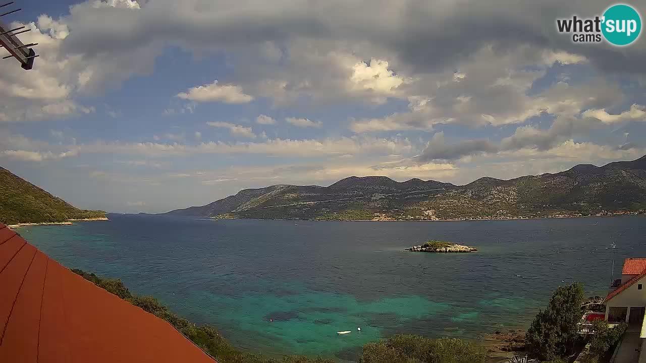 Korčula webcam en direct – Tri Žala Pelješac