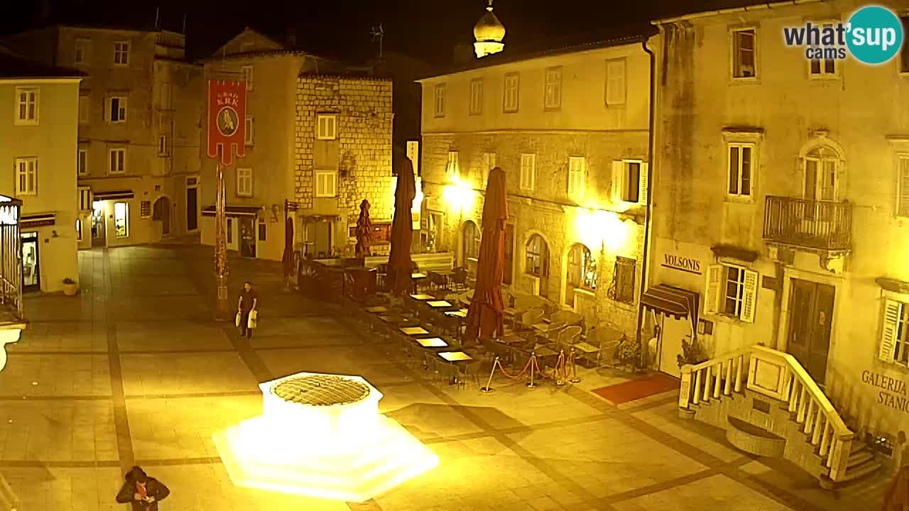 Krk webcam – Vela Placa
