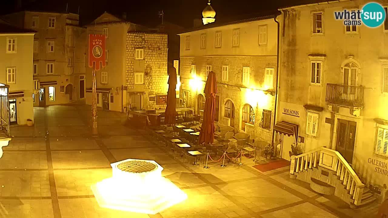 Web kamera Krk – Vela Placa
