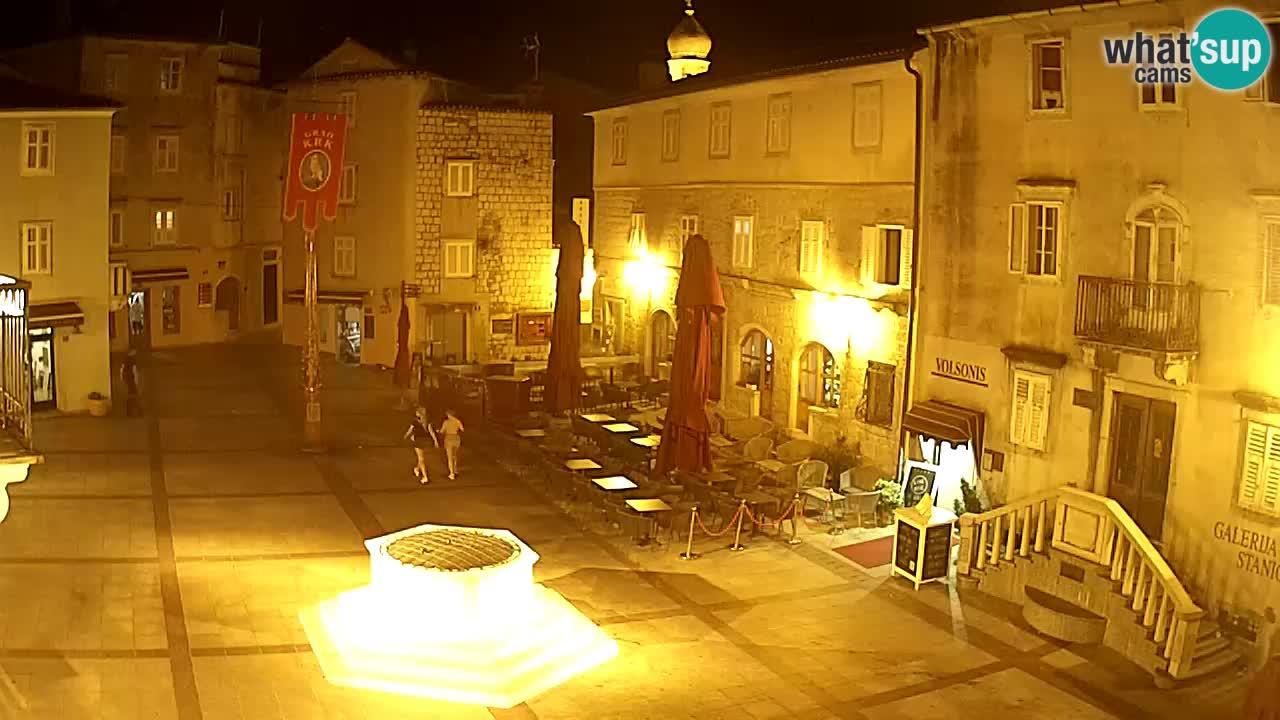 Spletna kamera Krk – Vela Placa