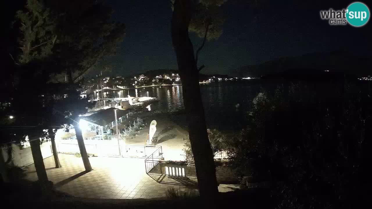 Web kamera Lumbarda – Plaža Prvi Žal – Korčula