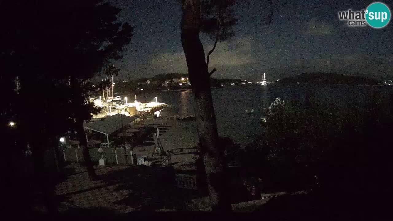 Camera en vivo Lumbarda – Playa Prvi Žal – Korčula