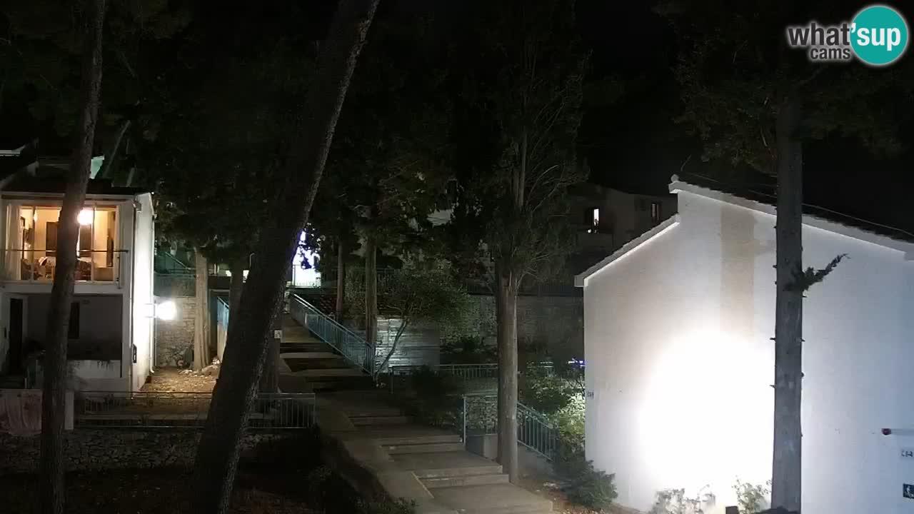 Lumbarda Resort webcam Kurzel