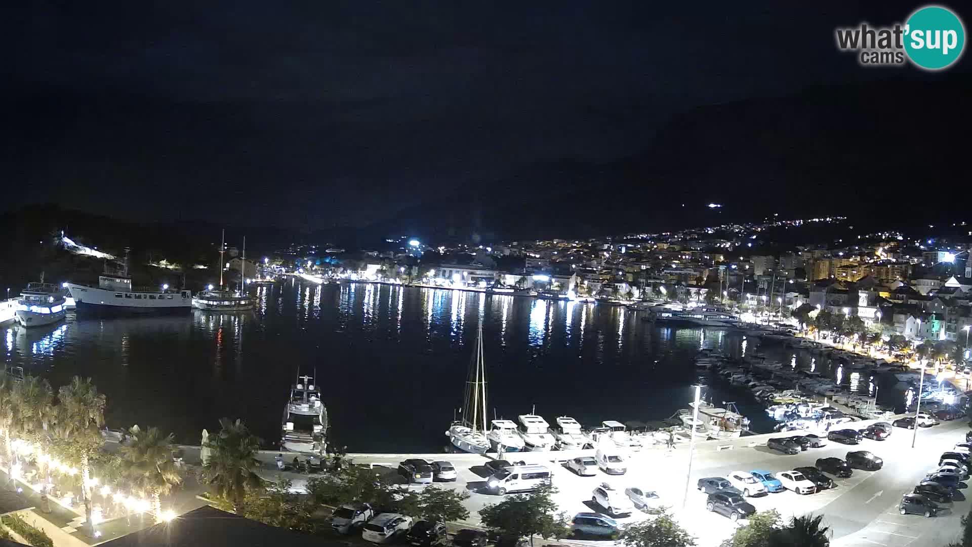Spletna kamera – Pogled na Makarsko rivo