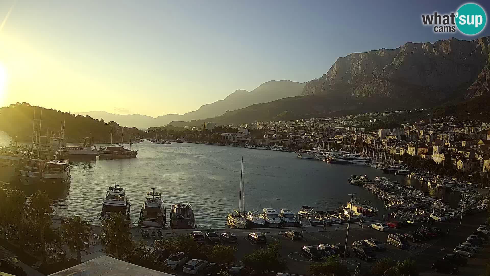 Webcam Makarska paseo junto al mar