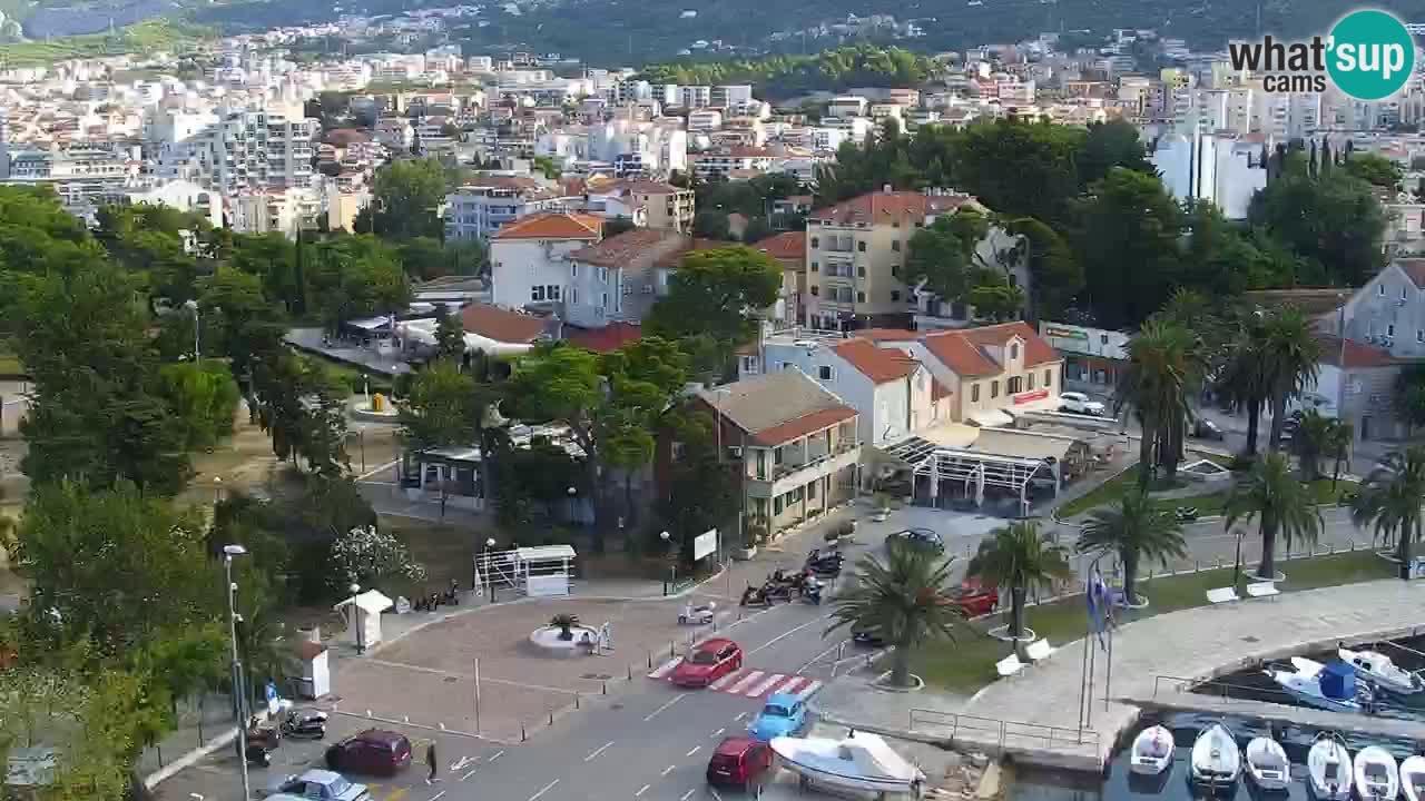 Croatia / Split-Dalmatia / Makarska / Panorama Makarska webcam