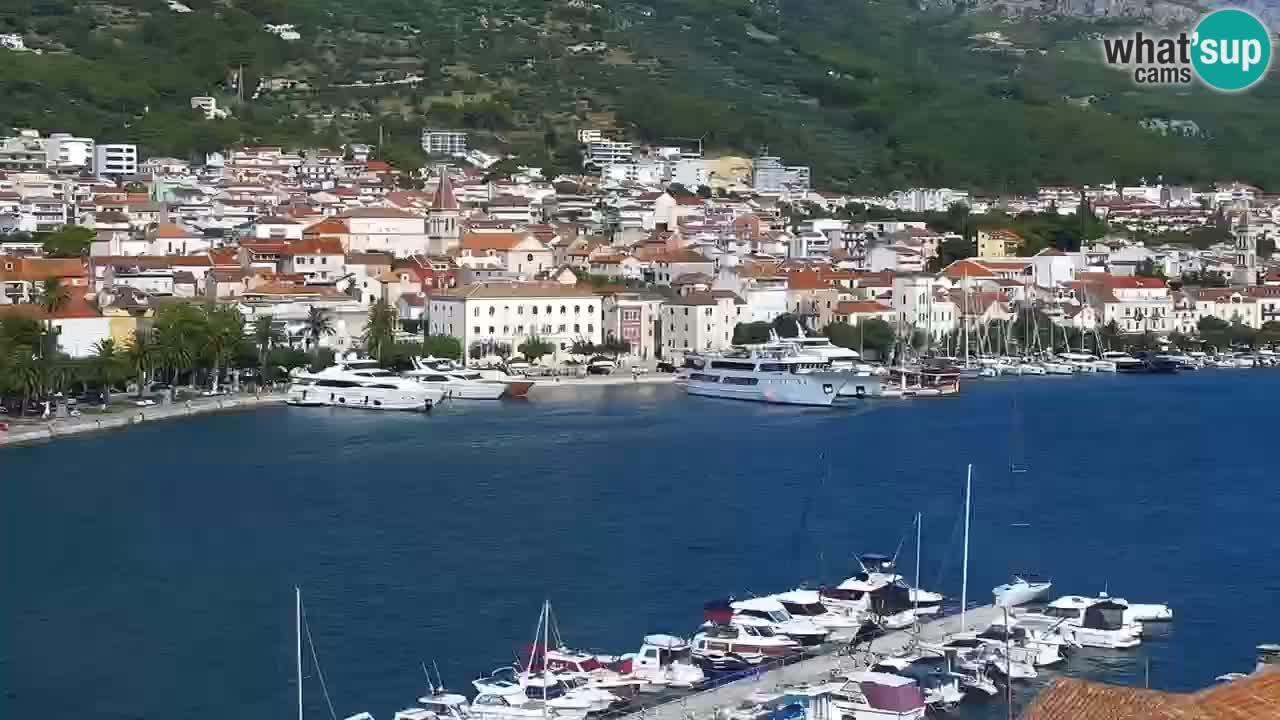 Panorama Makarska en vivo