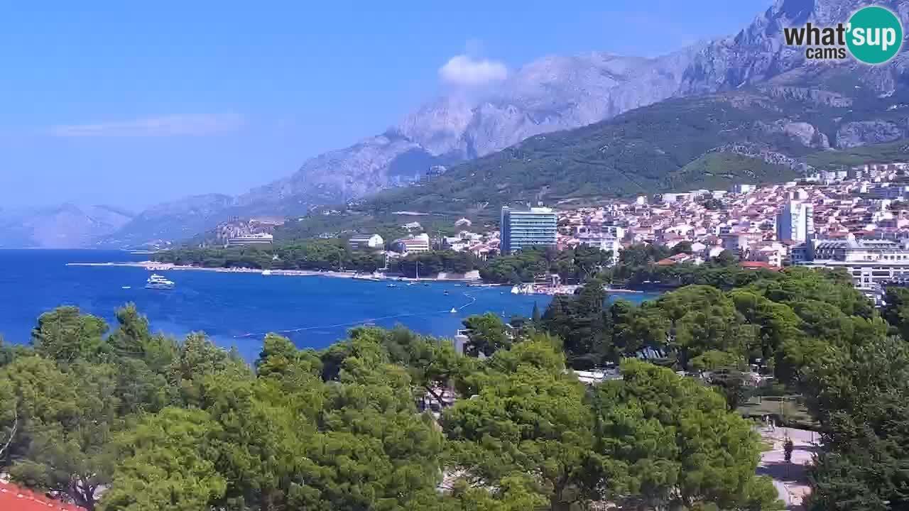 Panorama Makarska Live Webcam