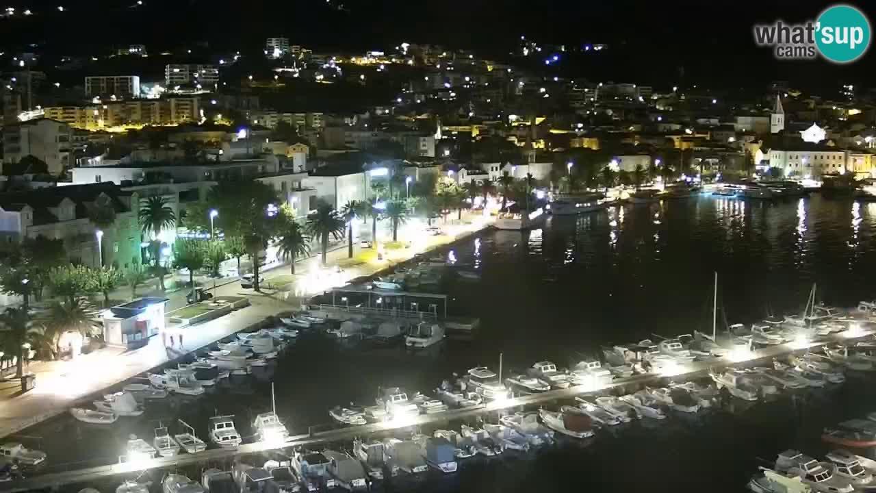 Panorama Makarska webcam