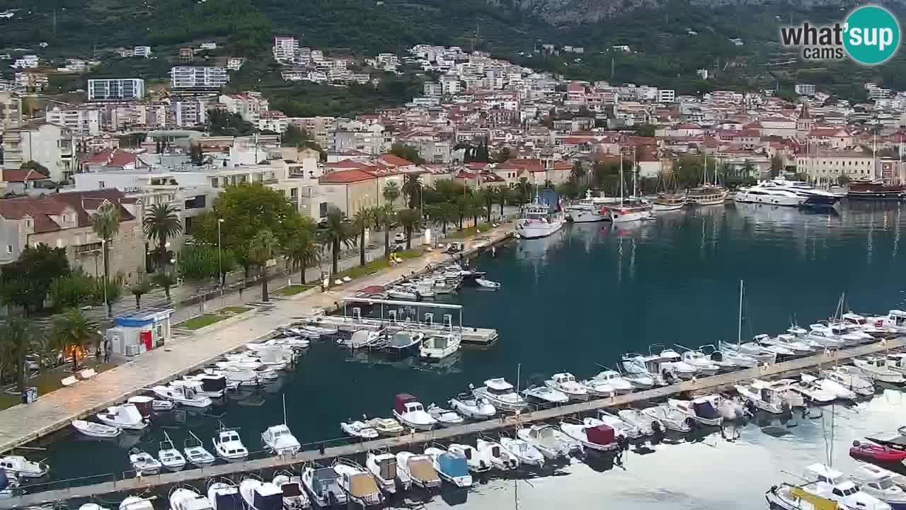 Panorama Makarska livecam