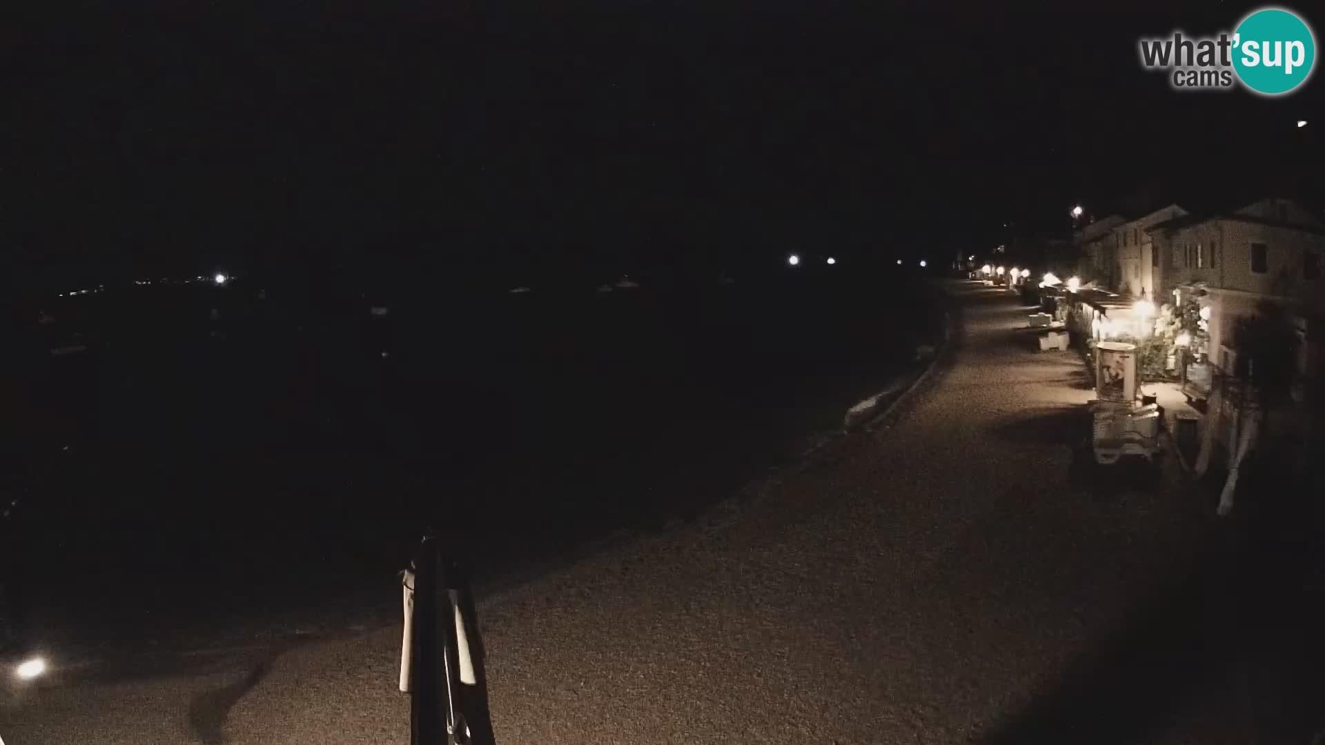 Webcam Mošćenička Draga – Strand