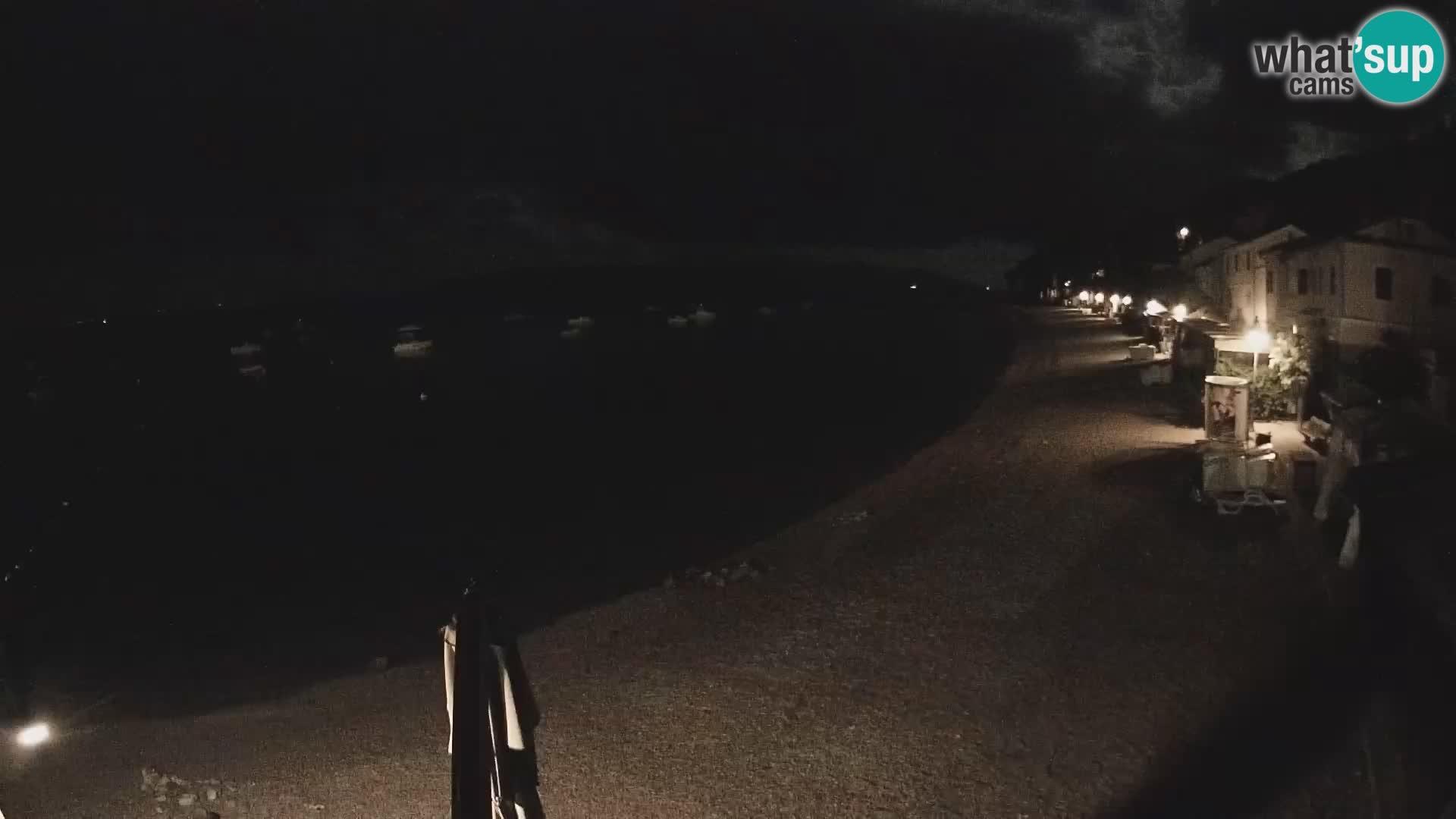 Kamera v živo Mošćenička Draga – plaža