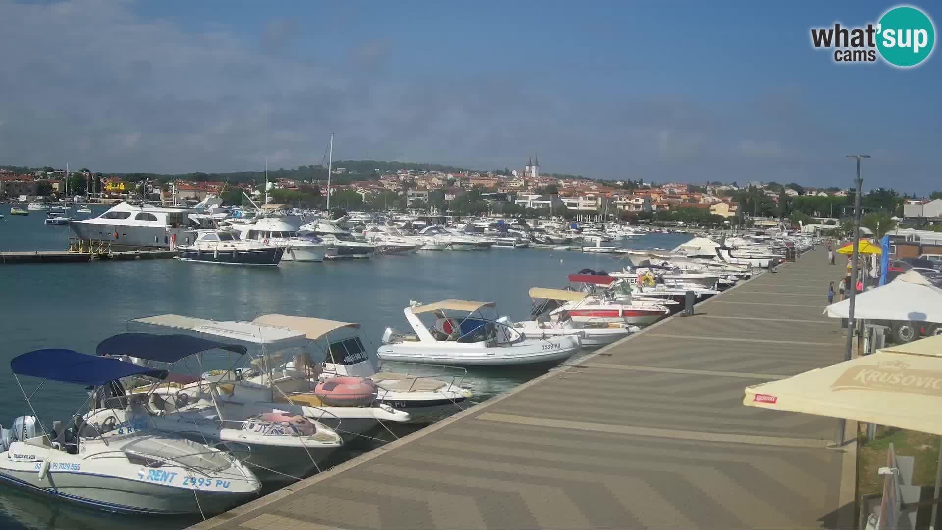 Medulin Live Webcam – Riva