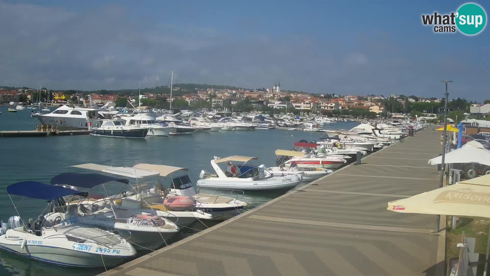 LIVE Webcam Medulin – Riva