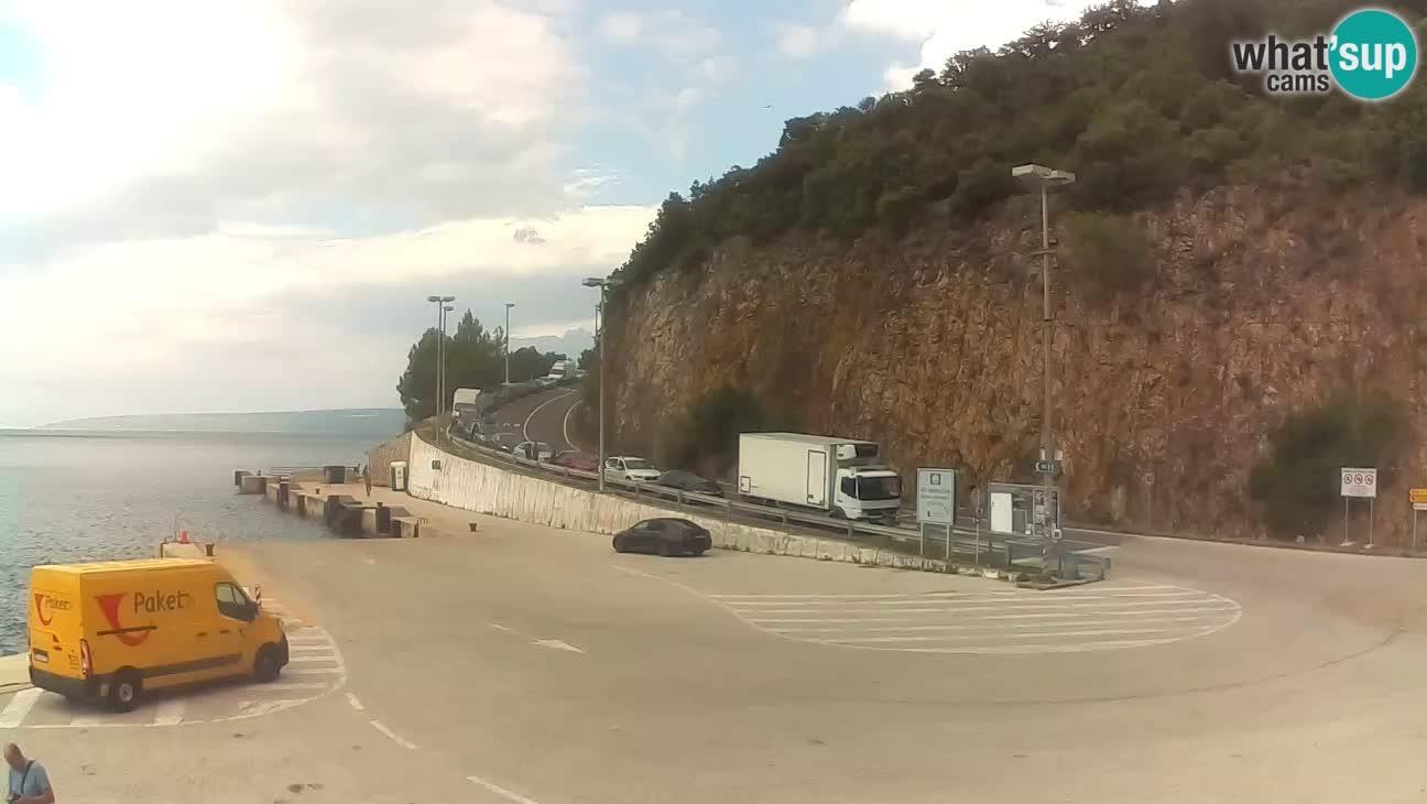 Webcam Fährhafen Merag