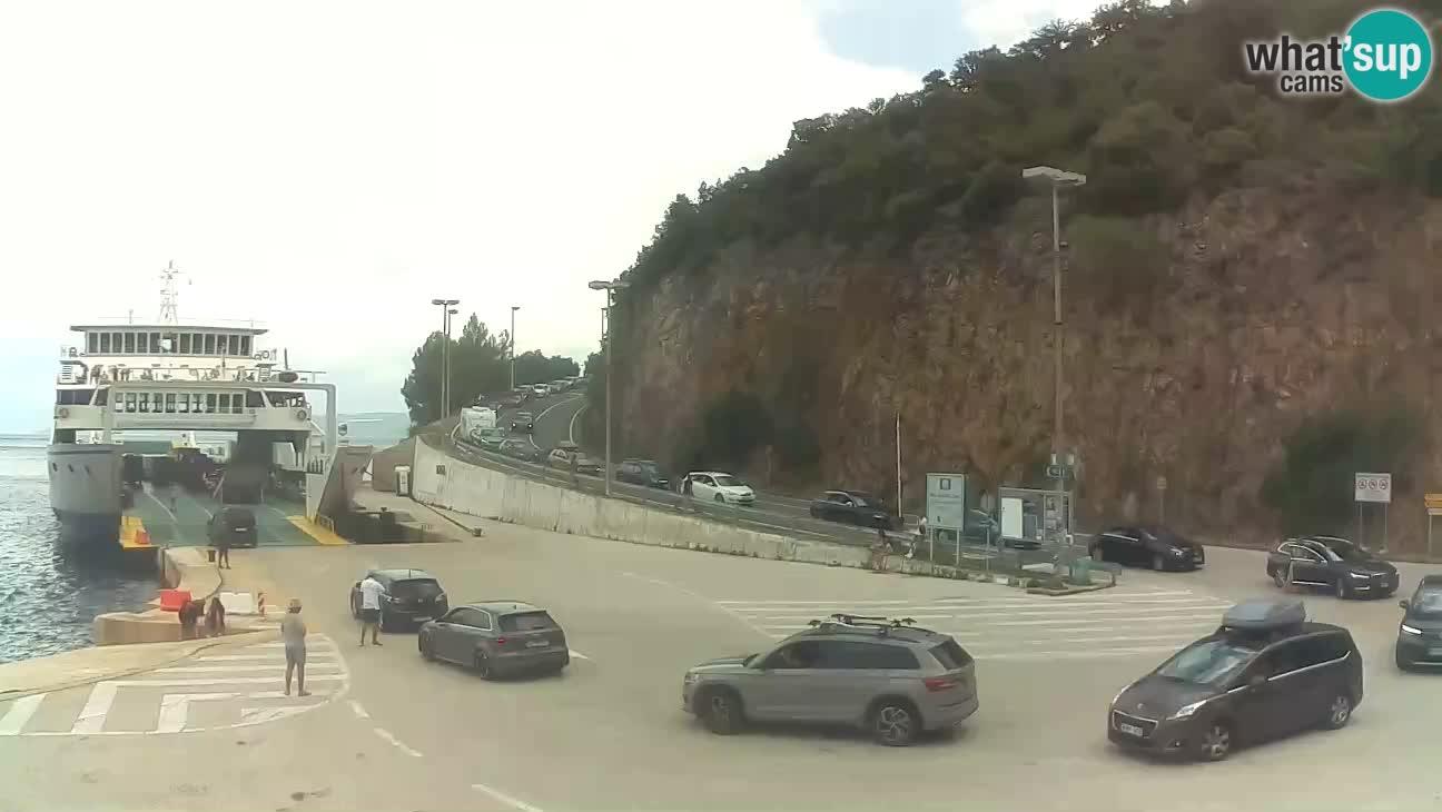 Webcam Insel Cres – Fährhafen Merag – Krk