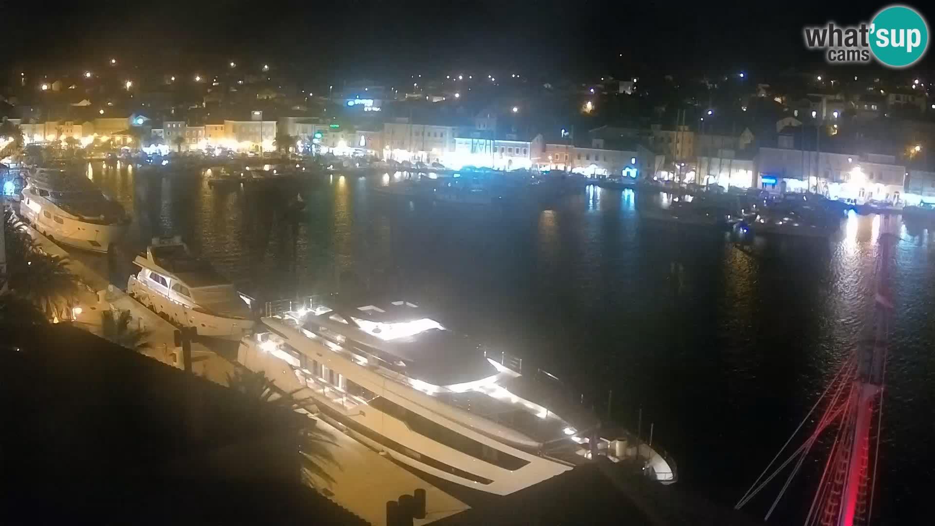 Webcam live – Lussinpiccolo – Riva dei capitani di Lussinpiccolo