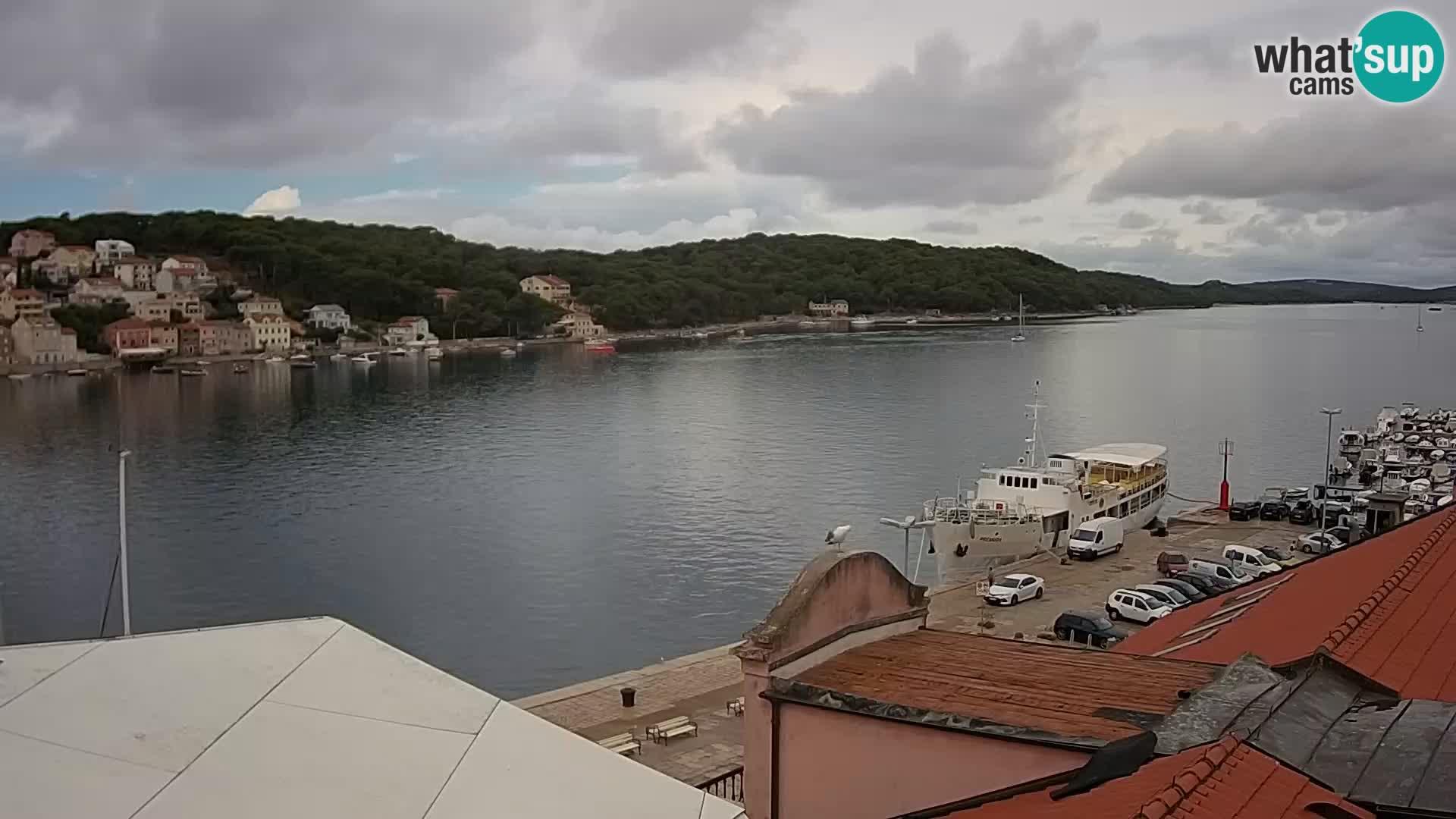 Spletna kamera – Mali Lošinj – Riva Lošinjskih kapitanov