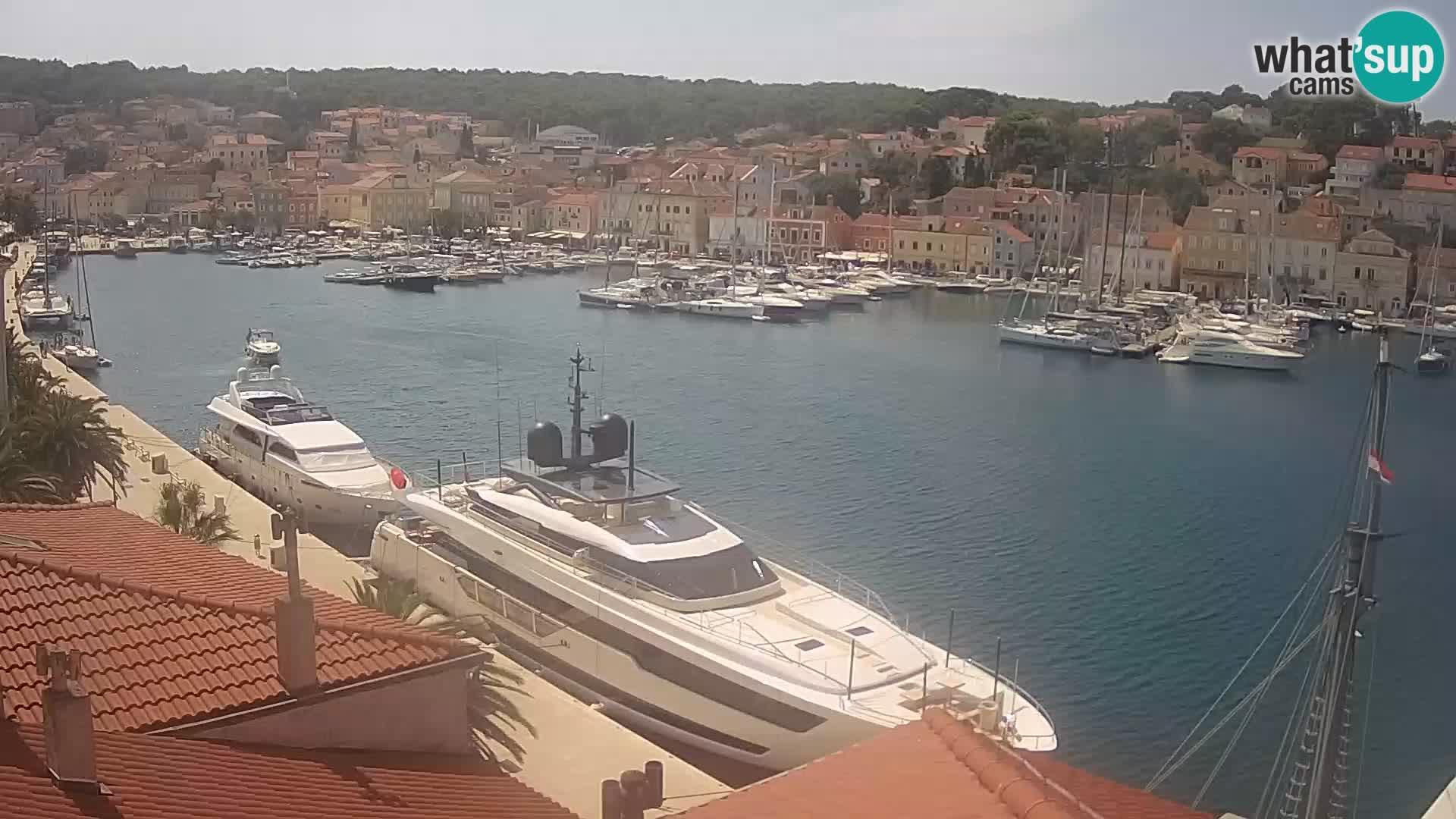 Webcam Live – Mali Lošinj – Riva Lošinjskih kapetana