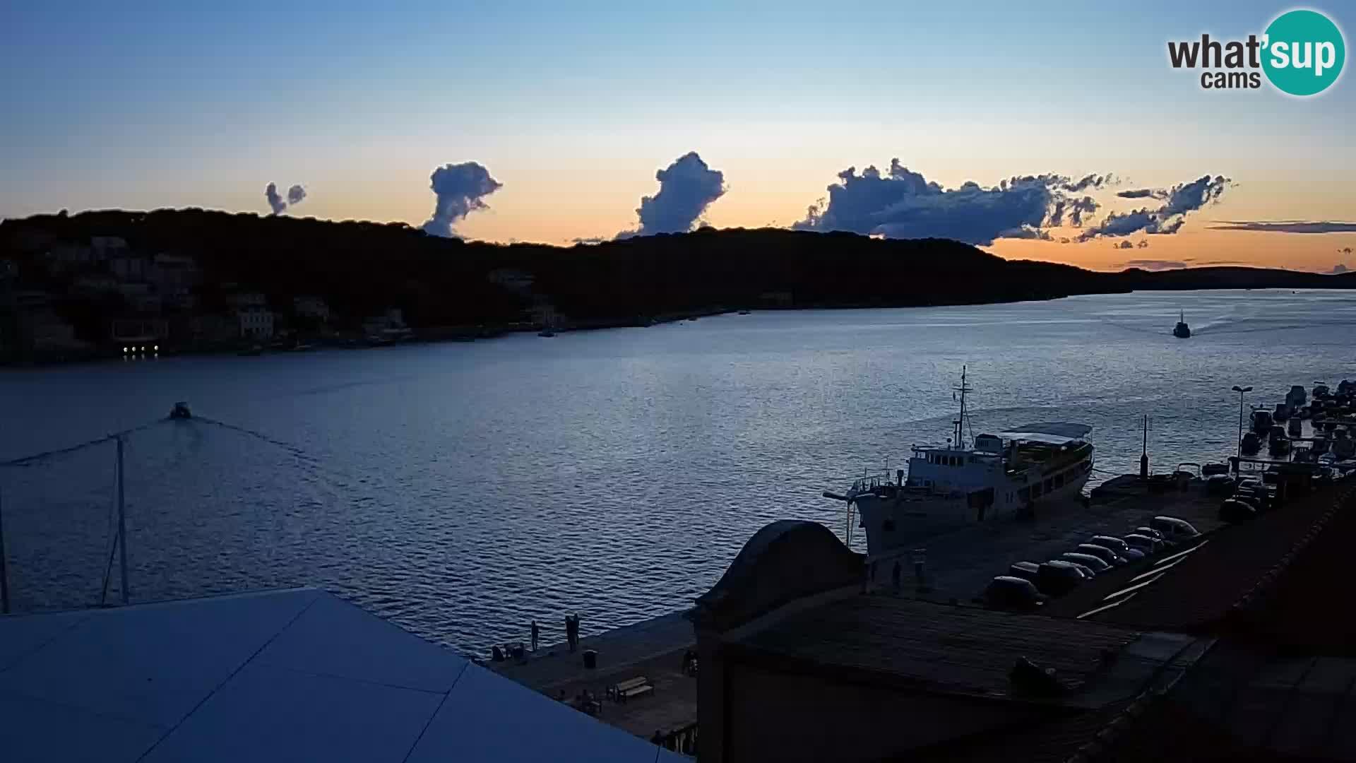 Webkamera u živo – Mali Lošinj – Riva Lošinjskih kapetana