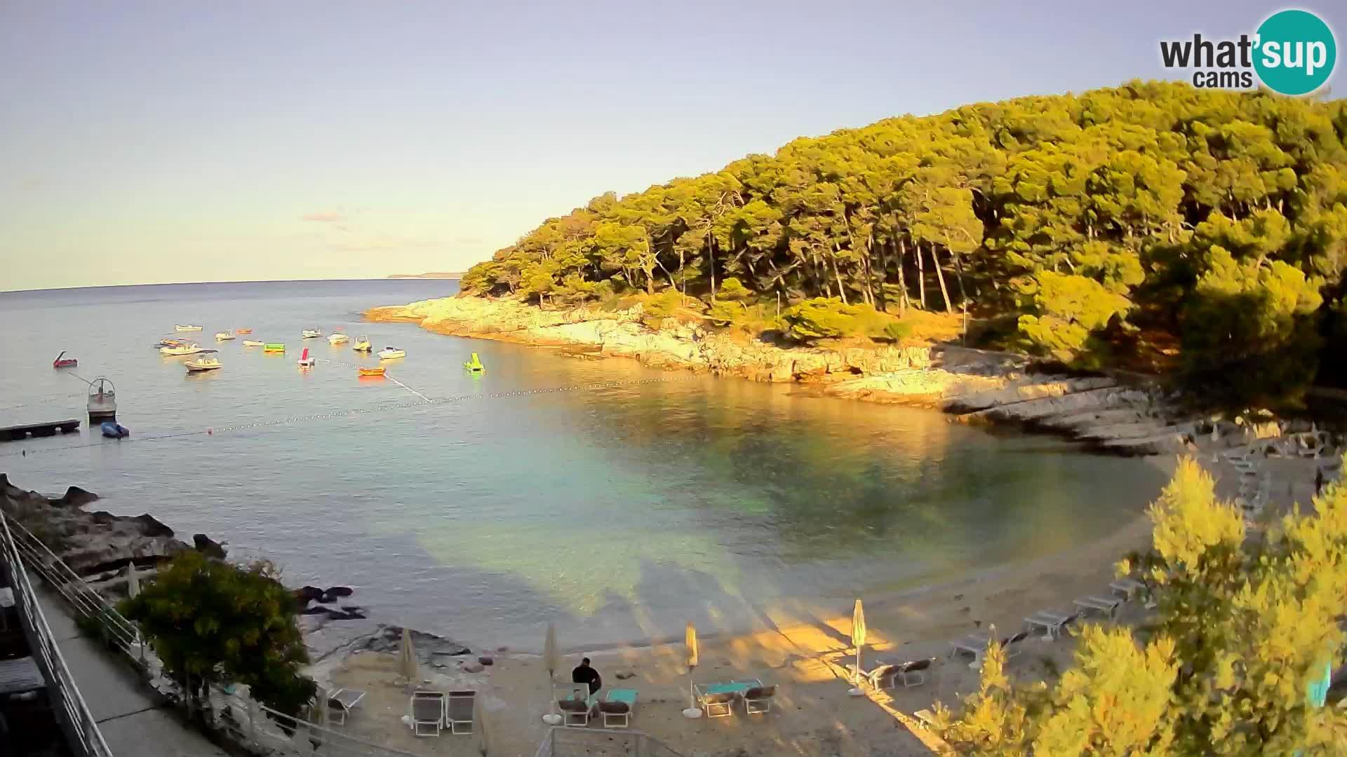 Webcam Mali Lošinj – Sunčana uvala Strand – Veli Žal