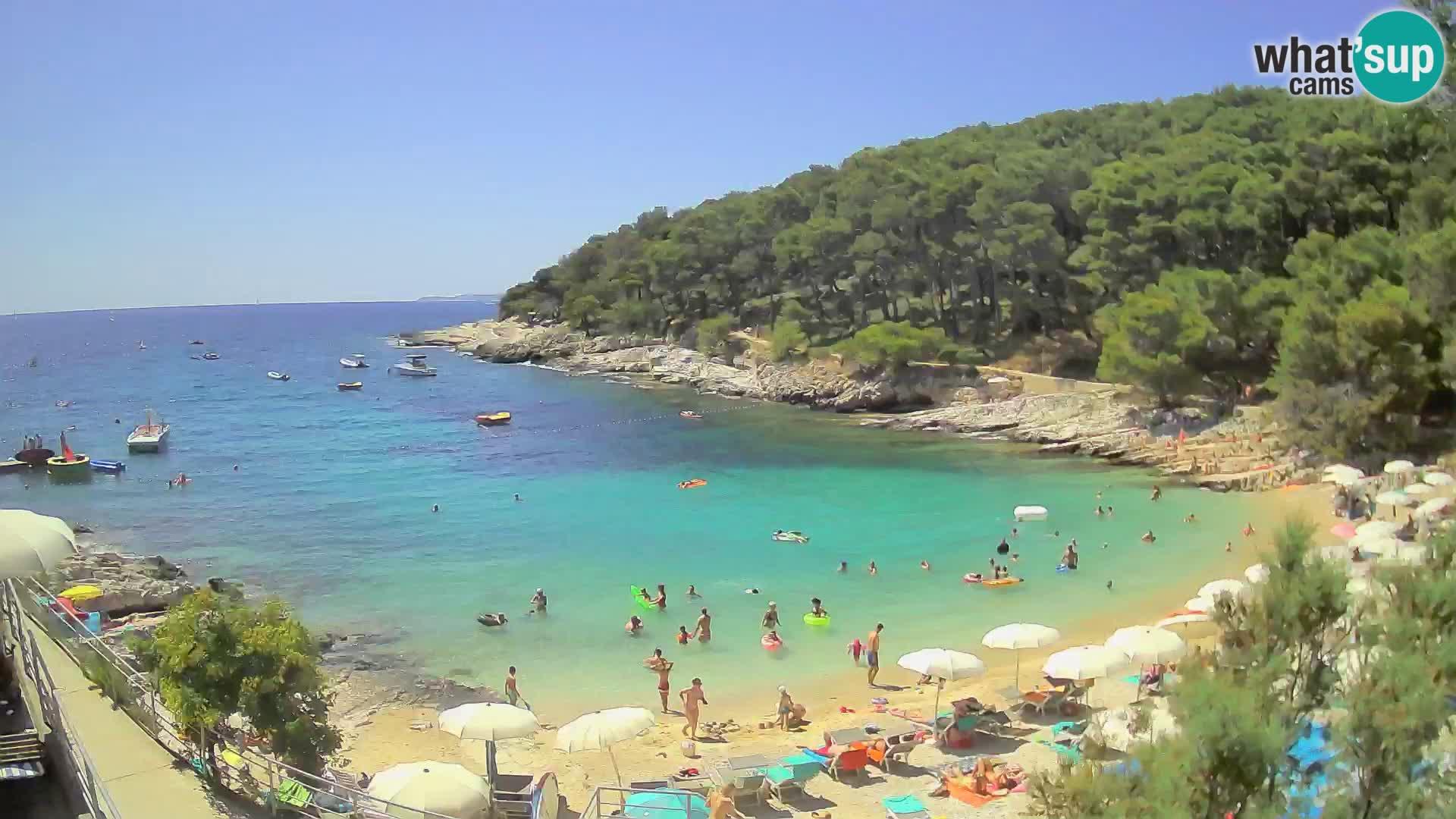Web kam Mali Lošinj – plaža Sunčana uvala – Veli Žal