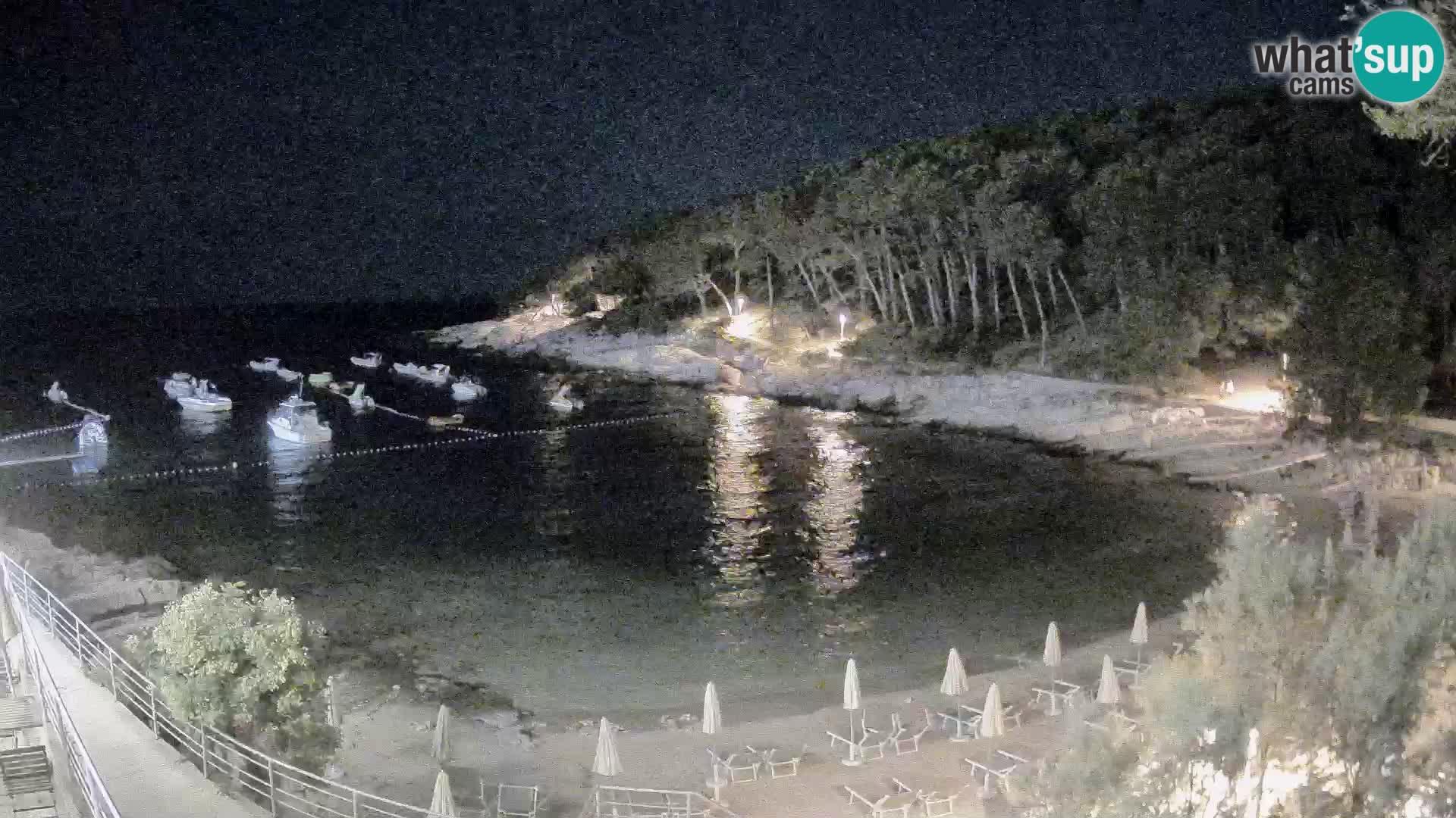Webcam Mali Lošinj – spiaggia Sunčana uvala – Veli Žal