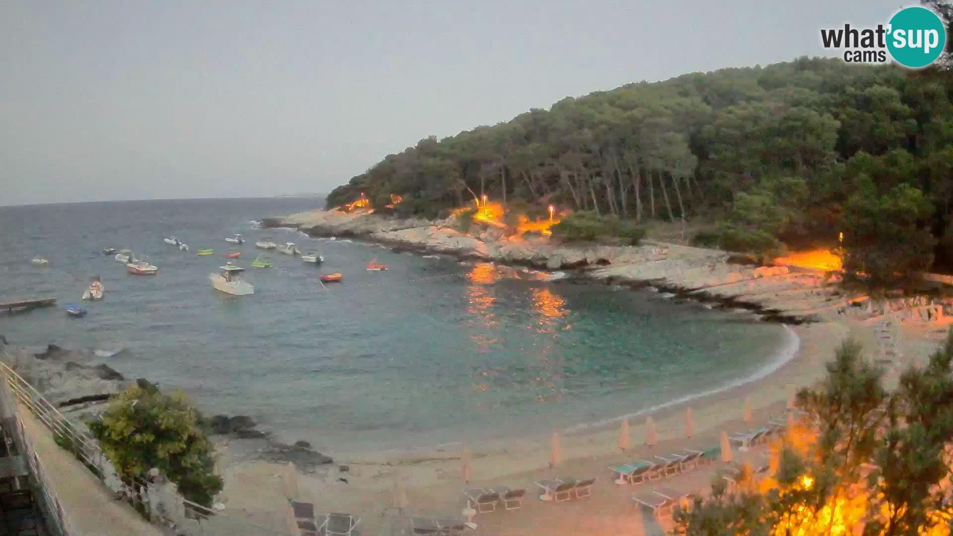 Spletna Kamera Mali Lošinj – plaža Sunčana uvala – Veli Žal
