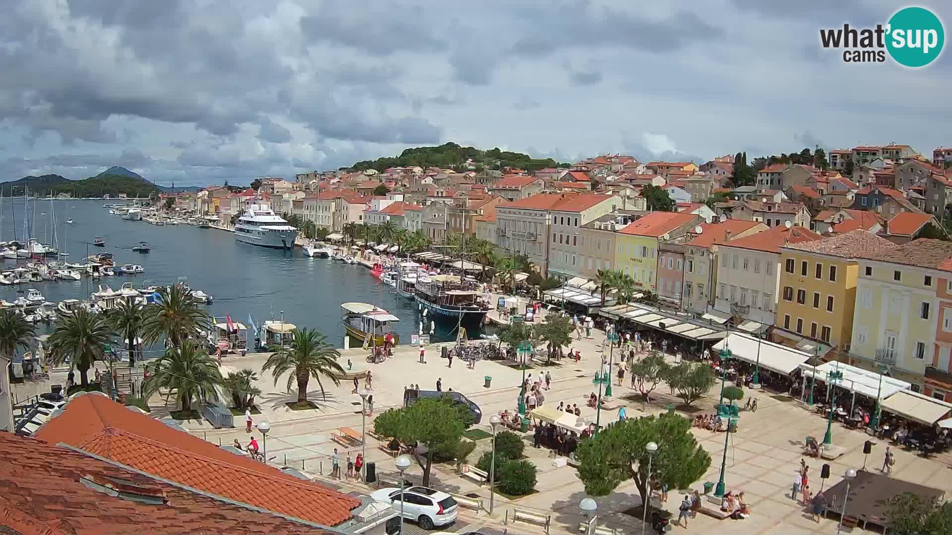 Webcam Mali Lošinj – place Republic
