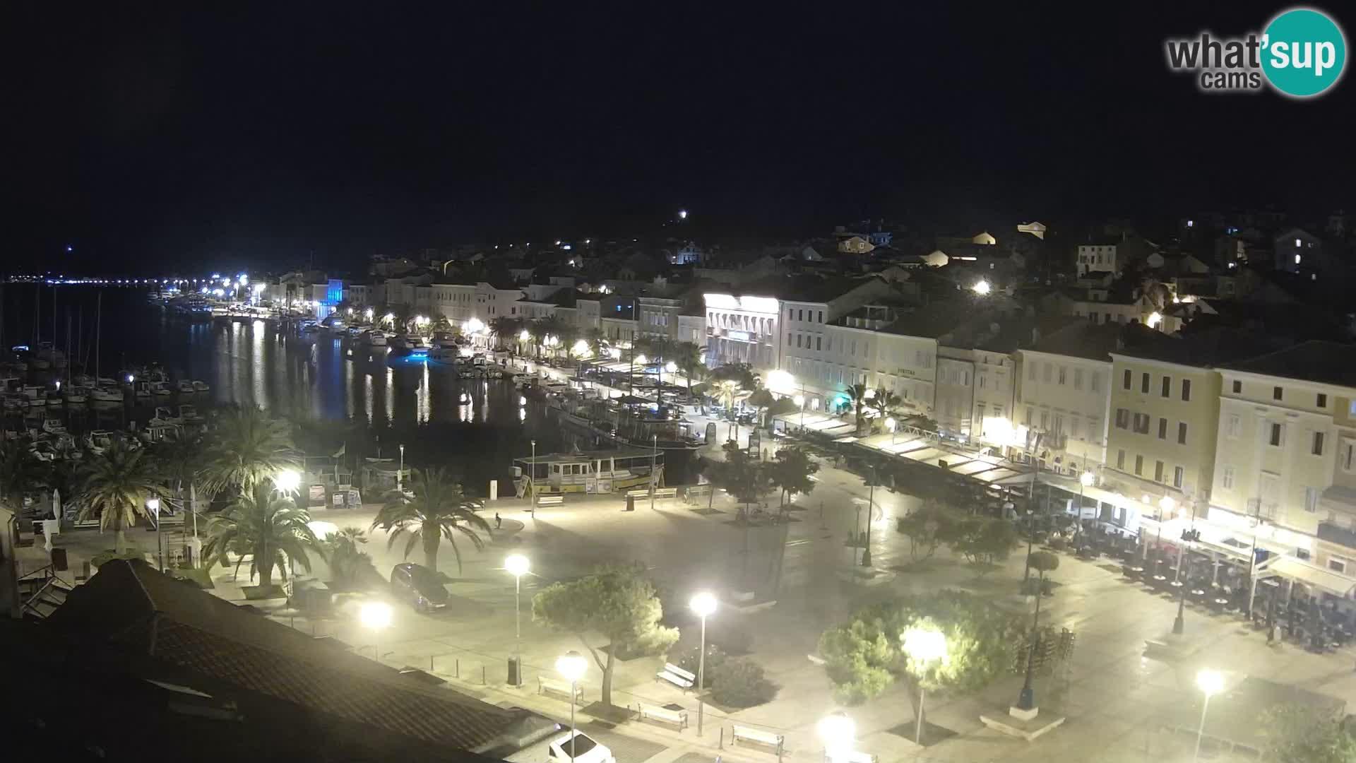 Kamera v živo Mali Lošinj – Glavni trg Republike