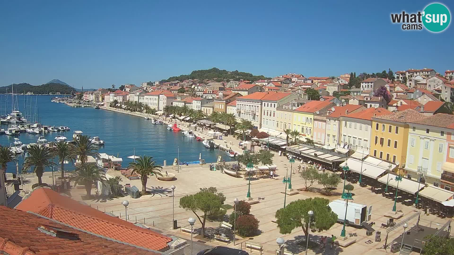 Webcam Mali Lošinj – Main square