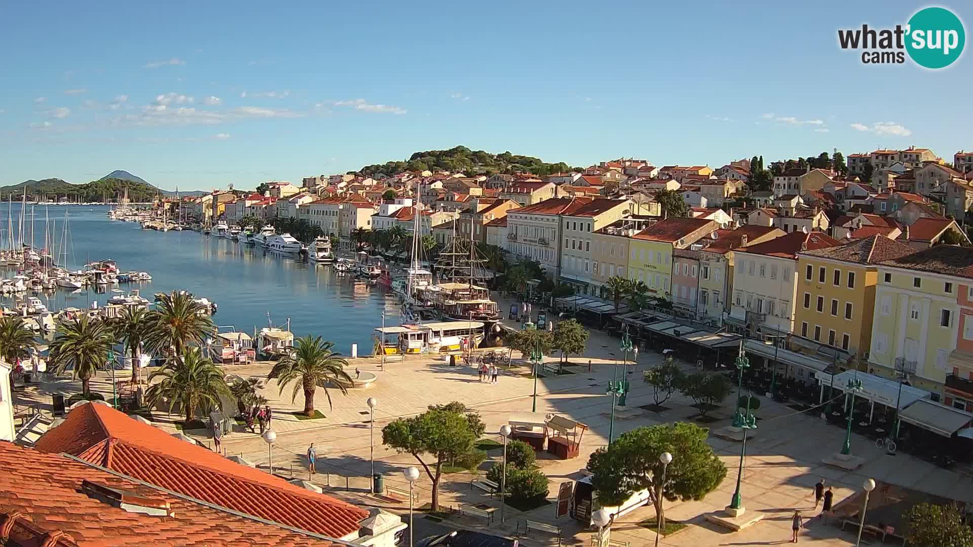 Webcam live Mali Lošinj – Piazza principale