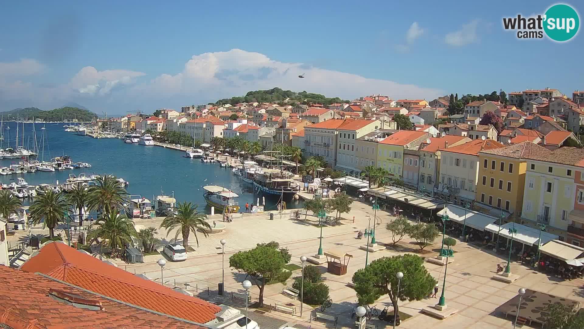 Webcam Mali Lošinj – plaza della Republica