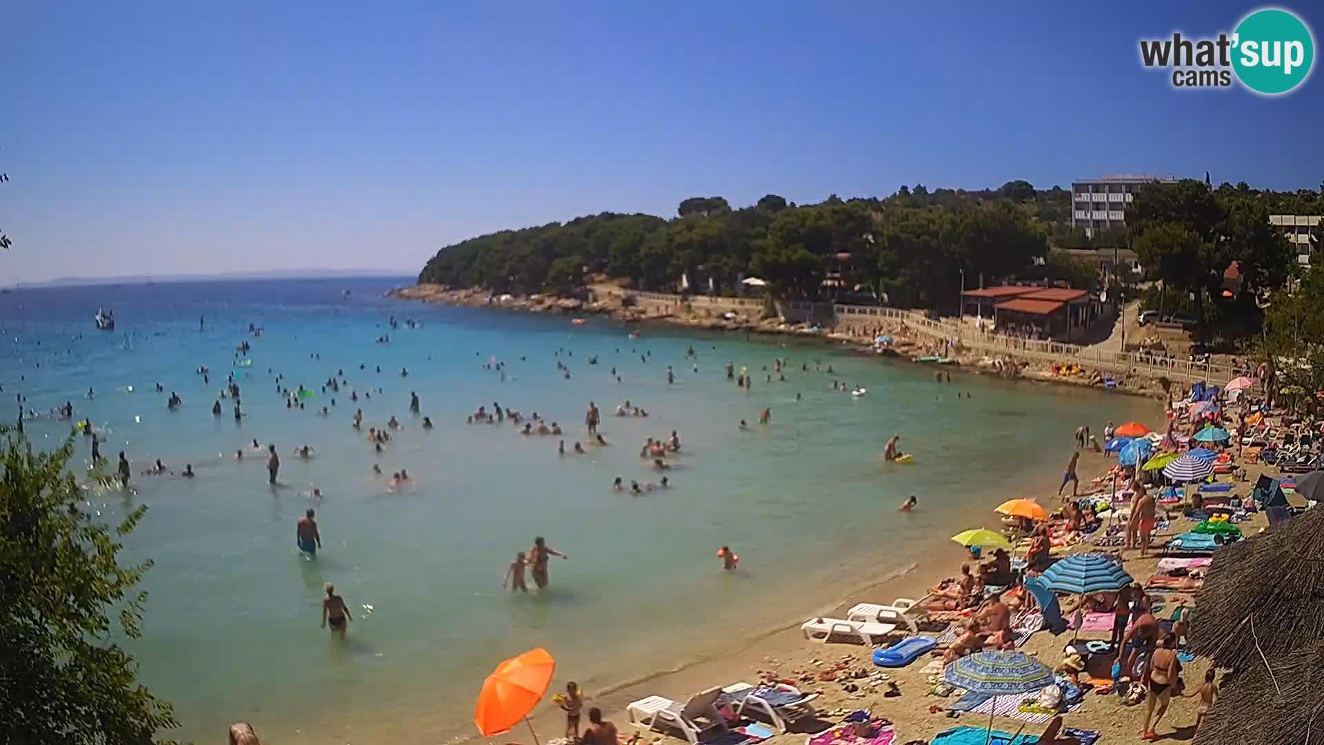 Plaža Slanica Murter – kamera v živo