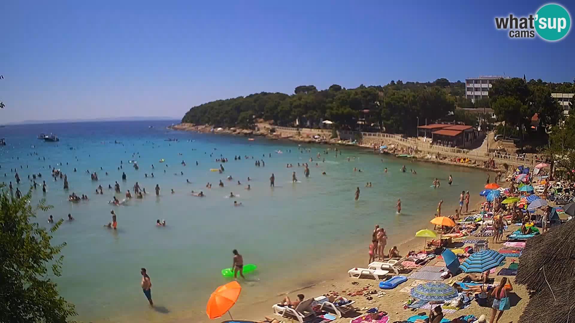 Playa Slanica Murter – camera en vivo