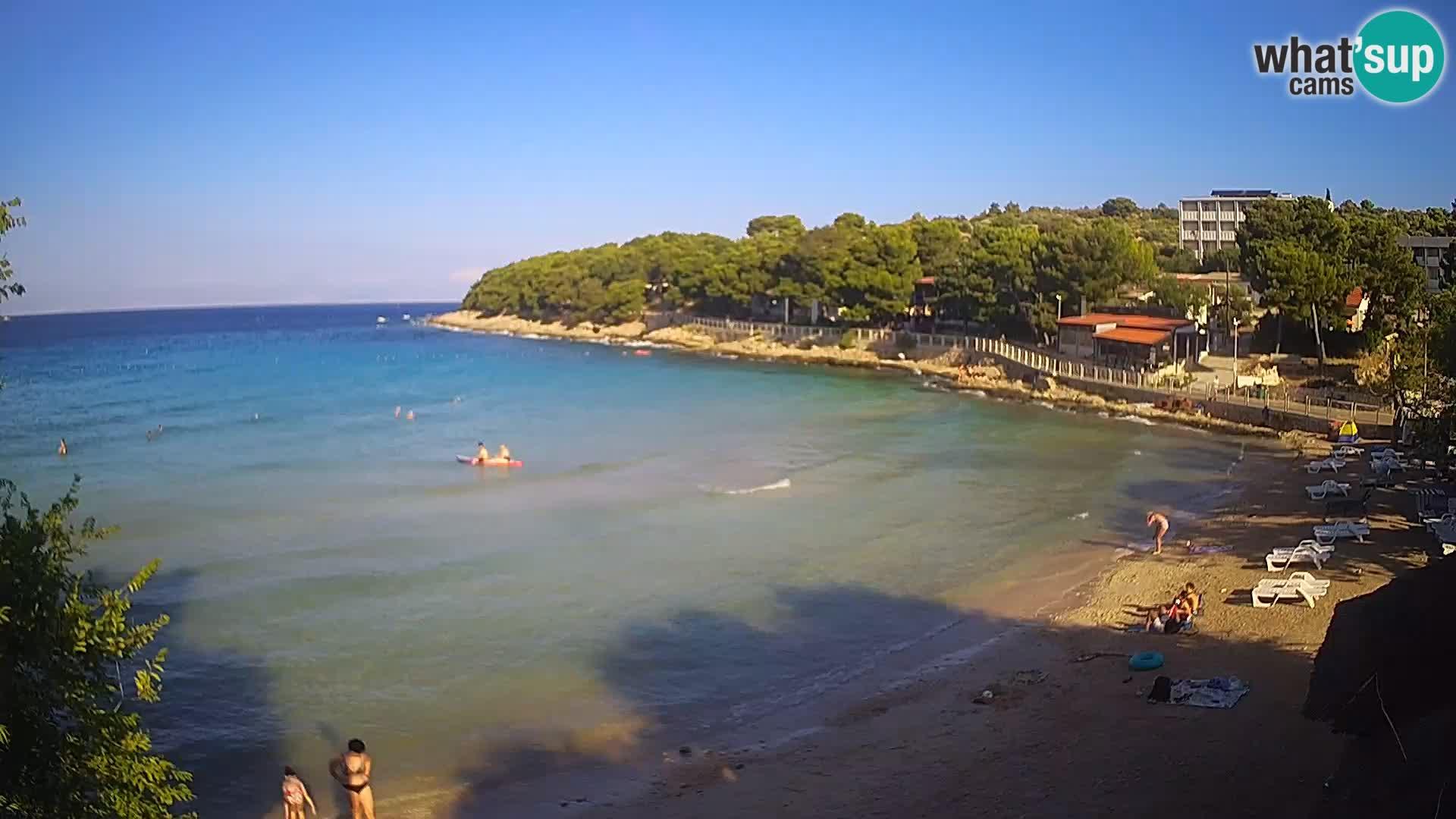 Plaža Slanica Murter – web kamera