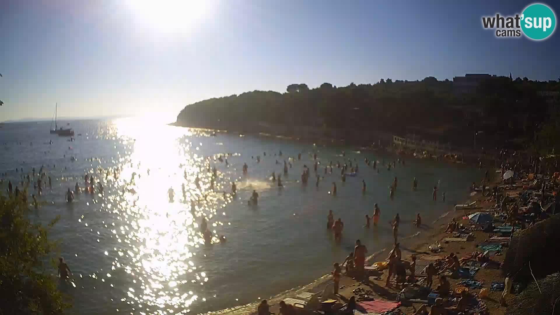 Strand Slanica Murter – webcam