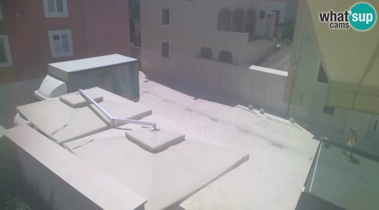 Novalja – trg Alojzija Stepinca in Dalmatinska ulica