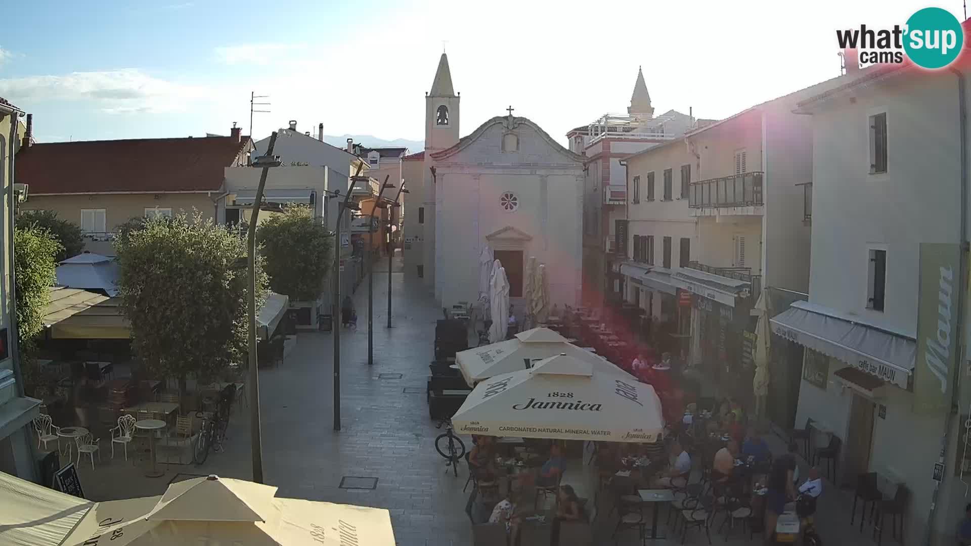 Novalja – place Loža