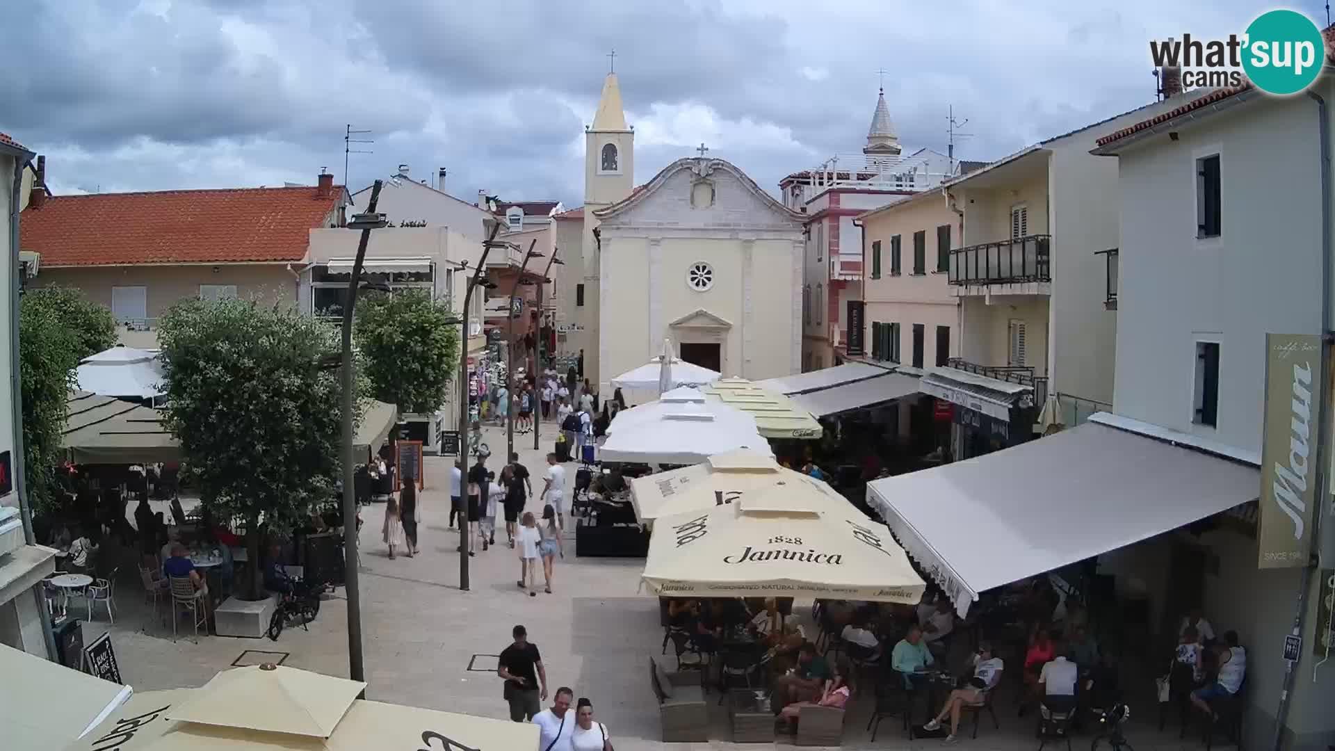 Novalja – piazza Loža