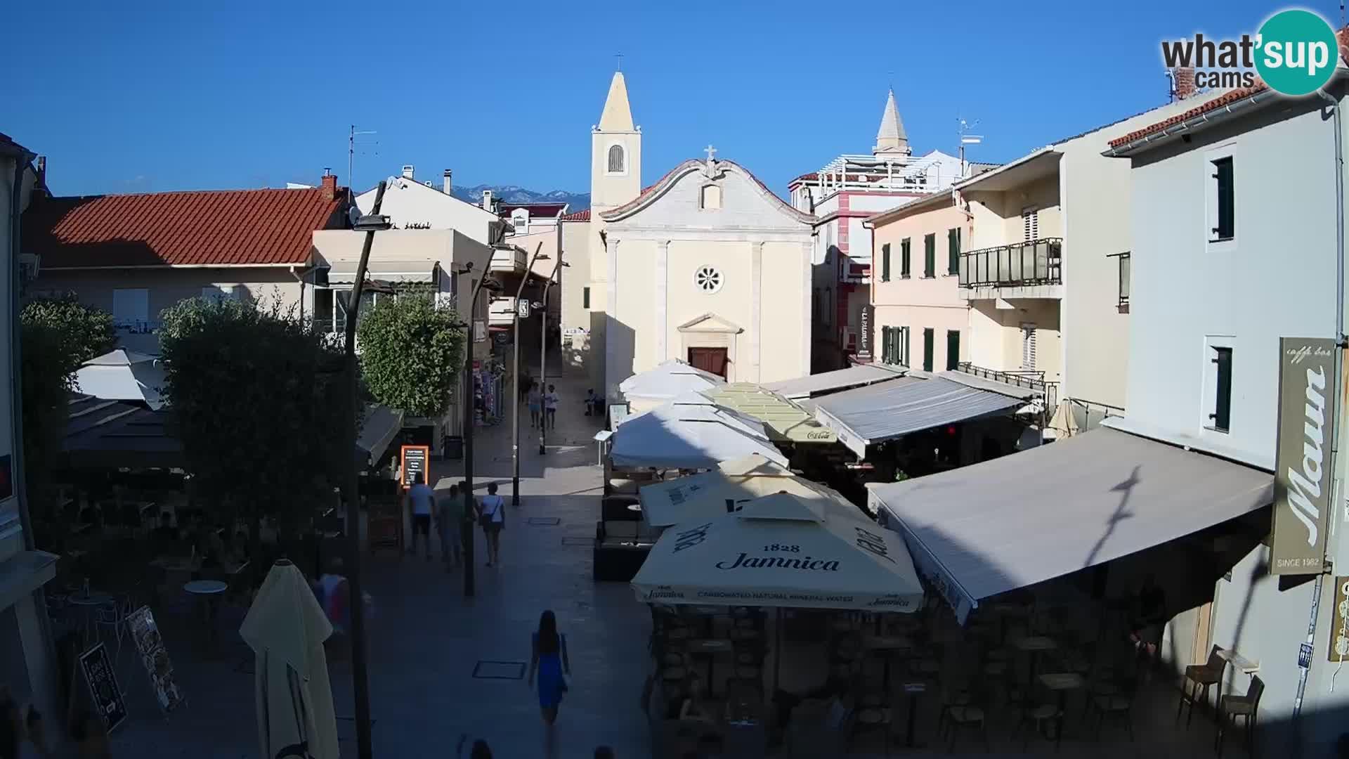 Novalja – piazza Alojzija Stepinca