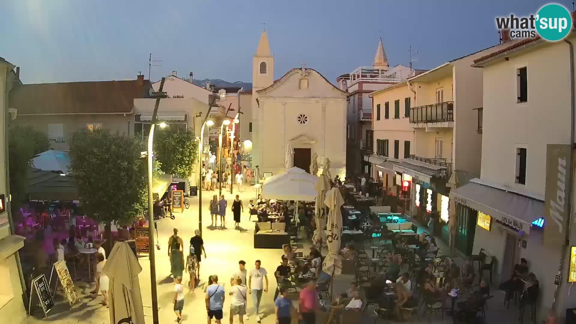 Novalja – Loža square