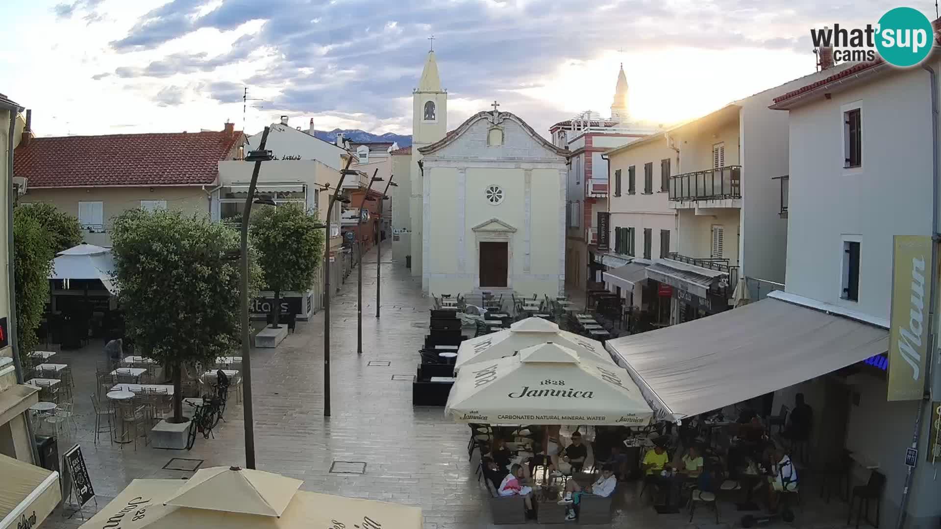 Novalja – trg Alojzija Stepinca