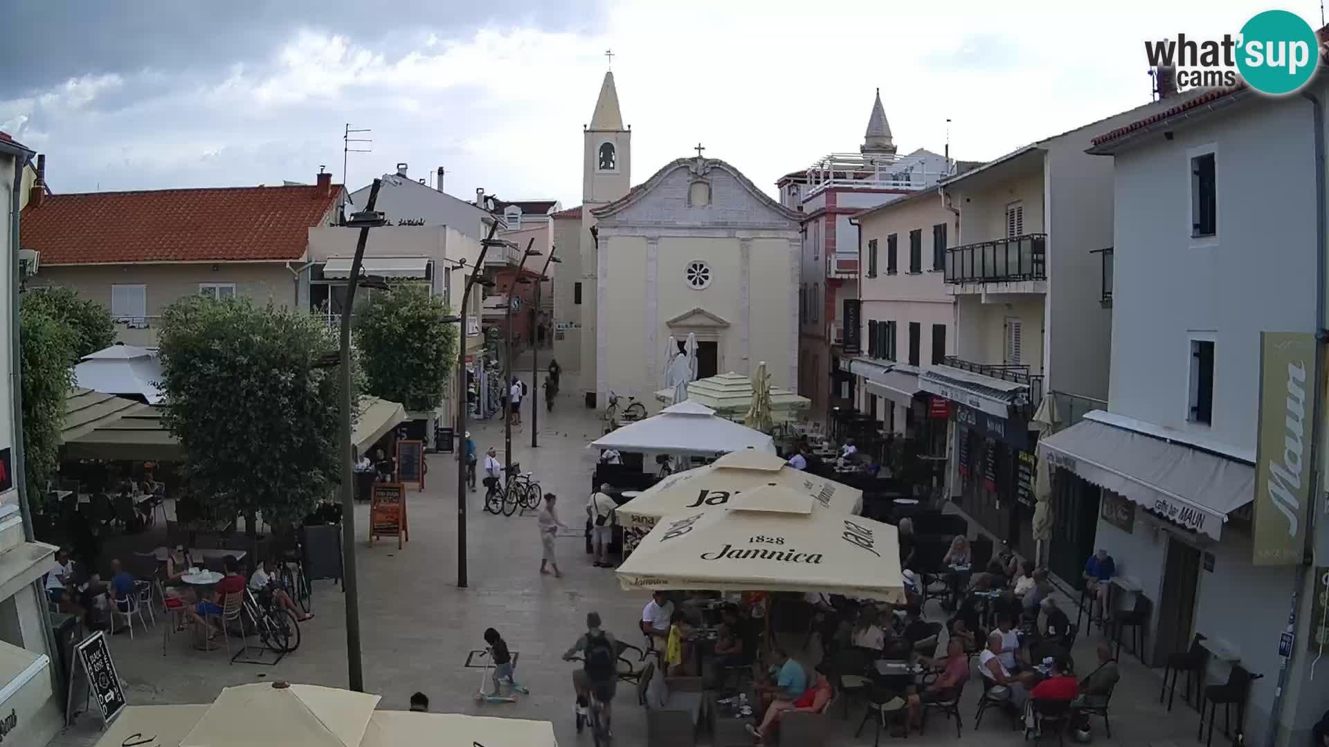 Novalja – plaza Alojzija Stepinca