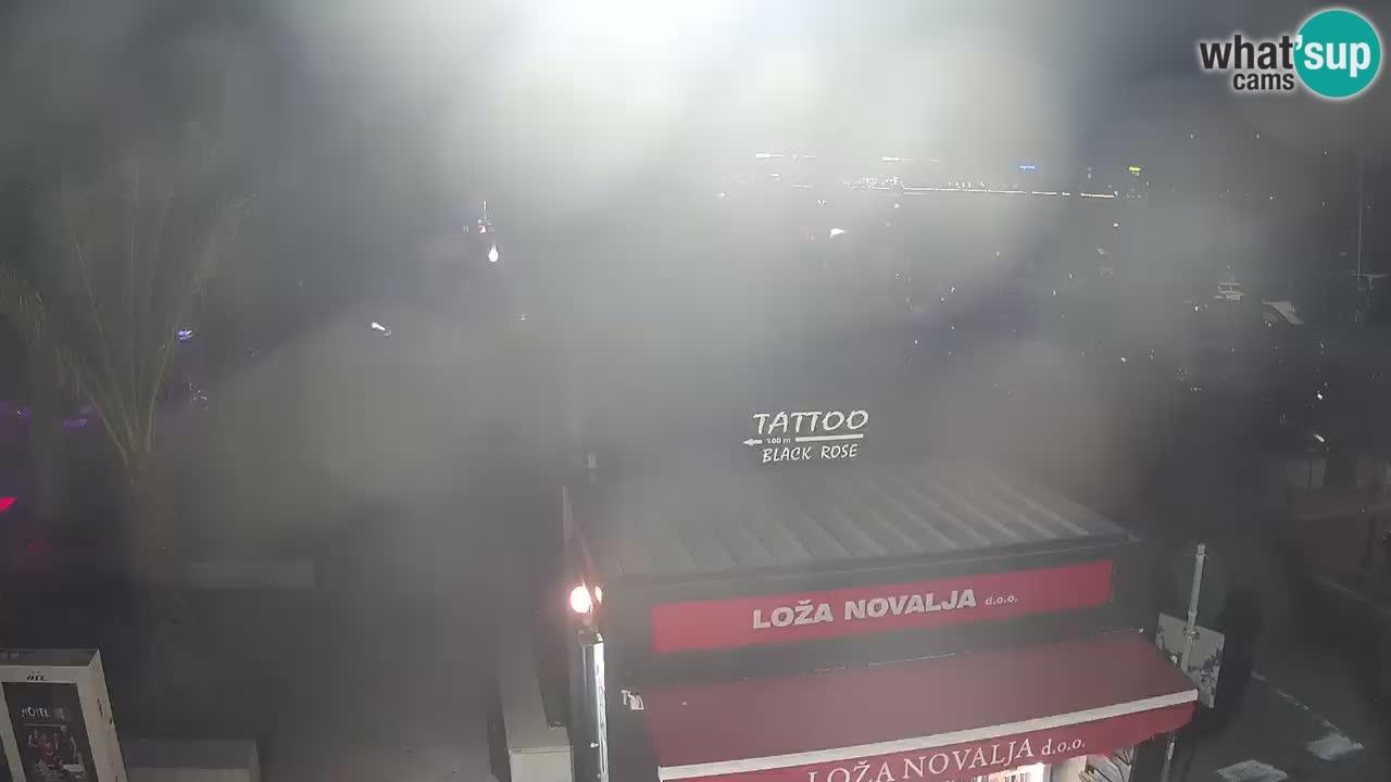 Webcam Novalja – Obala Petra Krešimira IV