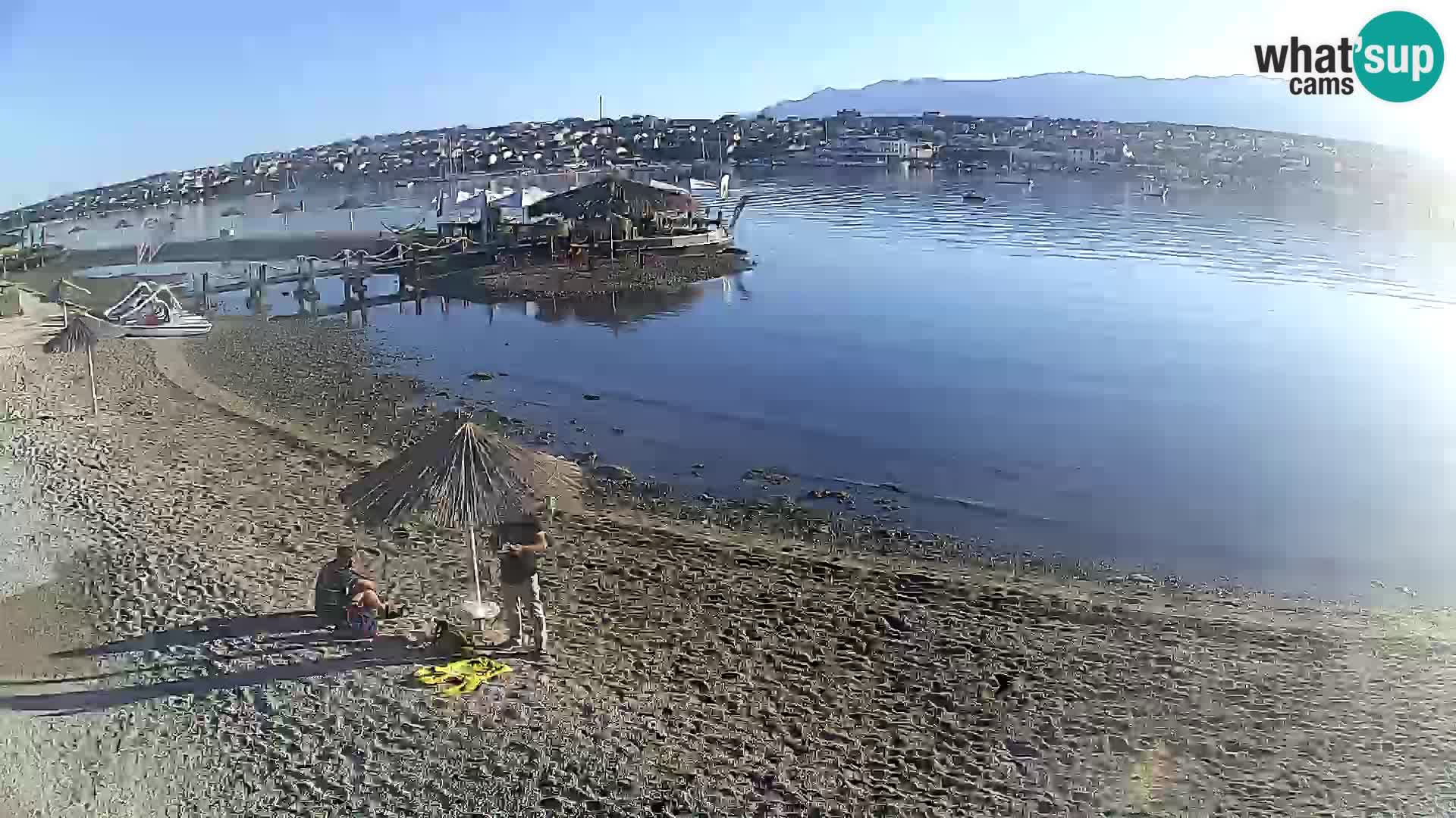Live webcam Novalja – The Town beach