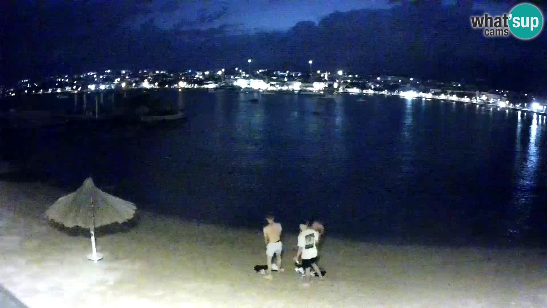 Novalja Kamera u živo – gradska plaža