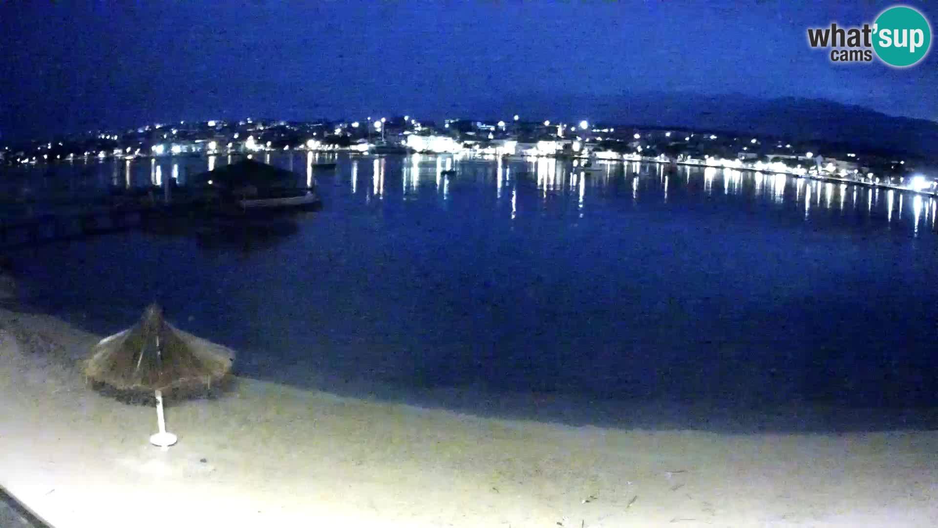 Novalja webcam – spiaggia cittadina