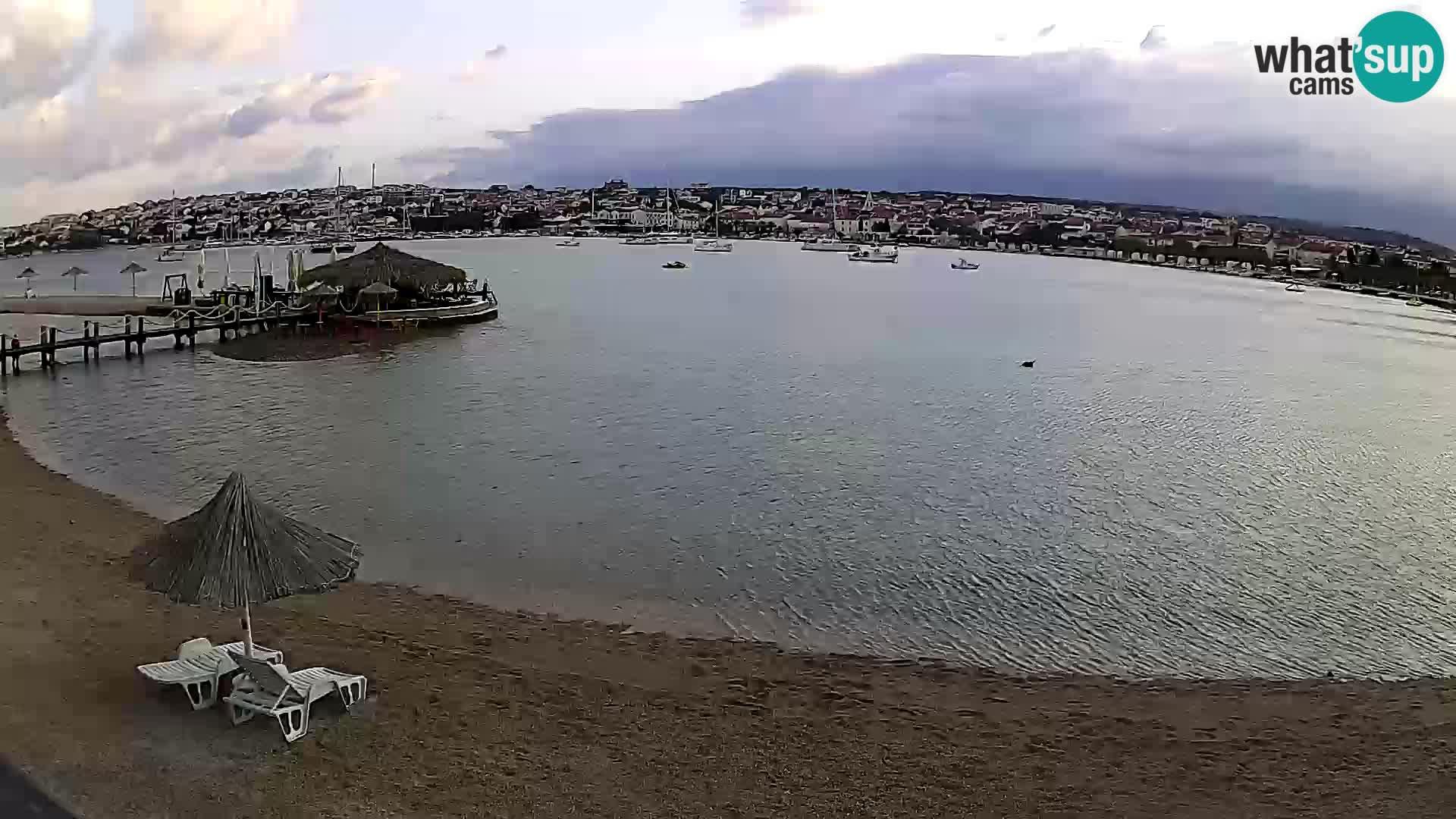 Webcam Novalja – Stadtstrand
